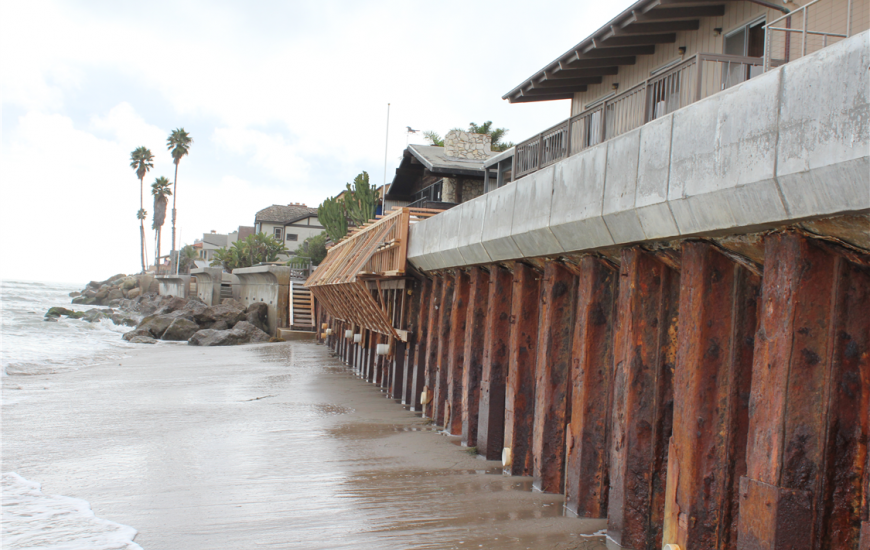Ventura seawall. Credit: Build Ventura